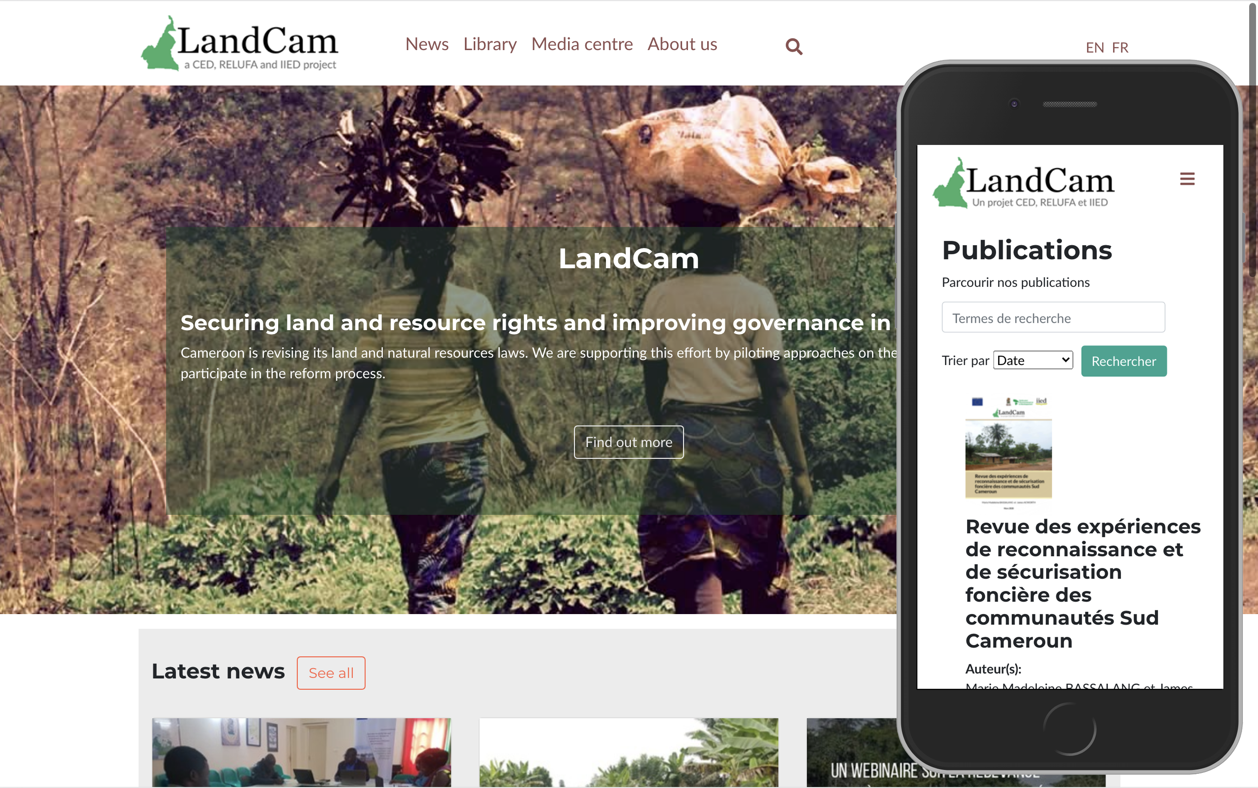 Landcam screenshot
